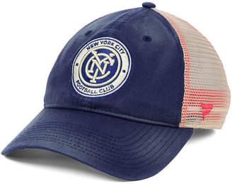 Americana (アメリカーナ) - Authentic Mls Headwear New York City Fc Americana Trucker Snapback Cap