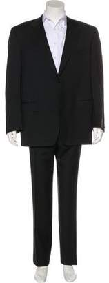Canali Wool Notch-Lapel Suit