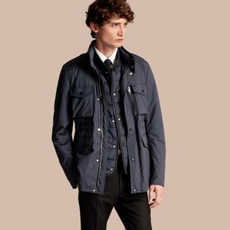 Burberry Lightweight Field Jacket with Detachable Gilet $2,395 thestylecure.com