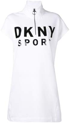 DKNY shortsleeved jersey dress