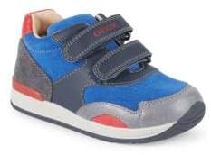 Geox Baby's and Kid's Rishon Grip-Tape Sneakers