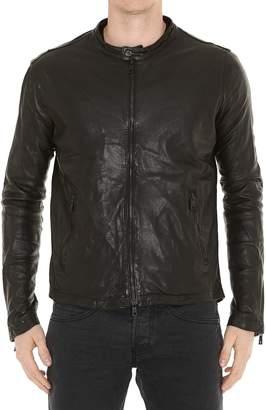 Giorgio Brato Leather Biker Jacket