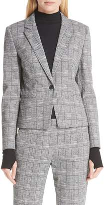 HUGO Asima Bold Check Suit Jacket