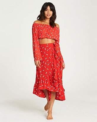 Billabong Women's Dancing Til Dawn Skirt