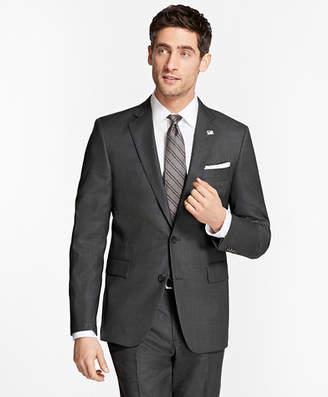 Brooks Brothers Regent Fit Saxxon Wool Slim Stripe 1818 Suit
