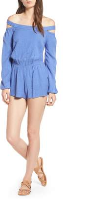 O'Neill Ellsworth Off the Shoulder Romper