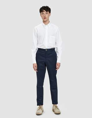 Thom Browne Cotton Twill Chino in Navy