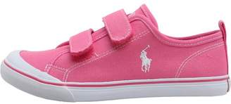 Ralph Lauren Girls Karlen EZ Canvas Trainers Fuchsia
