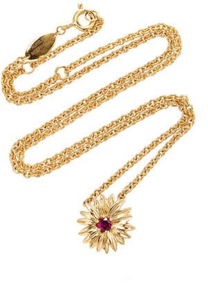 Aurelie Bidermann Floral Daisy Necklace