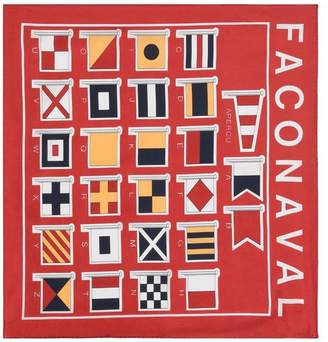 Façonnable Square scarf