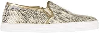 Hogan Leather Slip On Sneakers R141