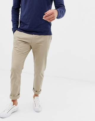J.Crew Mercantile slim fit stretch chino in beige