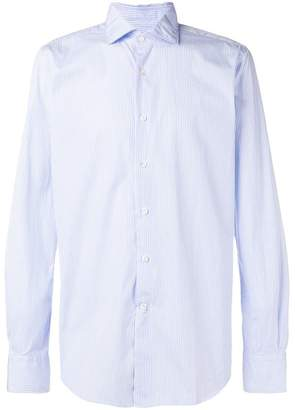 Glanshirt striped shirt