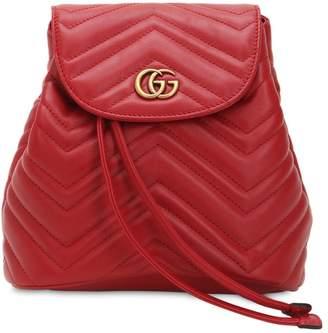 Gucci (グッチ) - GUCCI GG MARMONT ミニ レザーバックパック