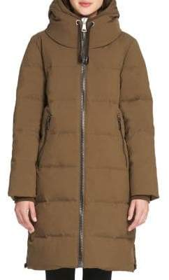 Donna Karan Down Cost Quilted Jacket
