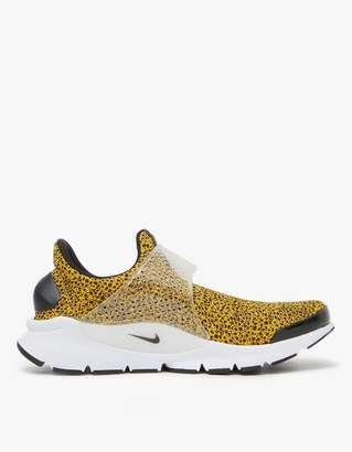 Nike Sock Dart QS Shoe in University Gold $120 thestylecure.com