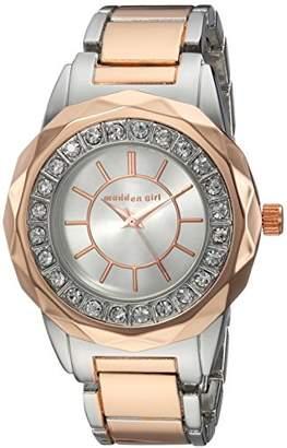 Steve Madden Women's Quartz Gold and Alloy Casual Watch