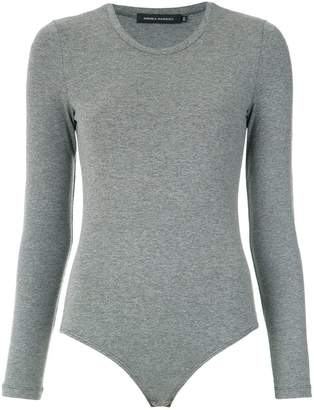 Andrea Marques long sleeves bodysuit