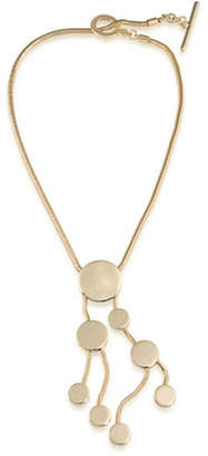 Trina Turk Indian Canyon Goldtone Cascading Disc Pendant Necklace