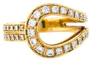 Di Modolo 18K Diamond Loop Ring