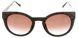 Thierry Lasry Tinted Printed Sunglasses
