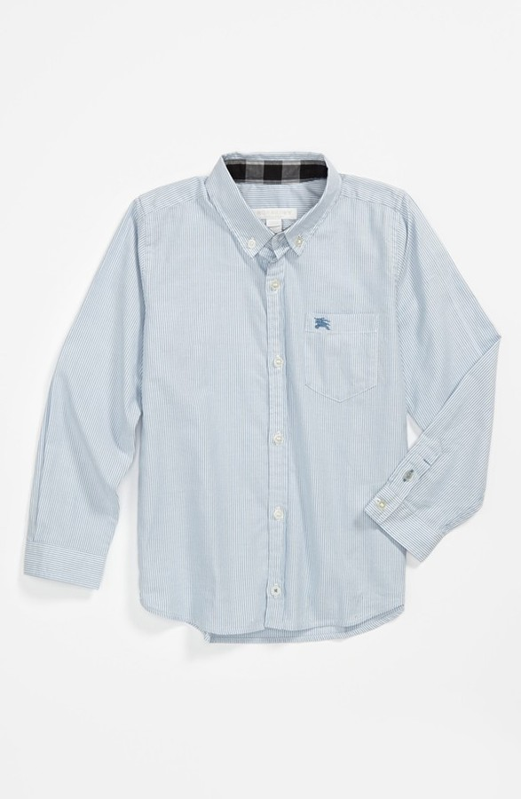 Burberry 'Mini Fred' Dress Shirt (Little Boys & Big Boys)