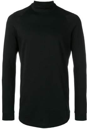 Devoa high neck jersey top
