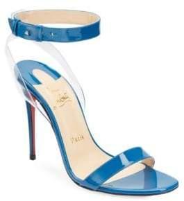 Christian Louboutin Jonatina 100 Patent Leather Sandals