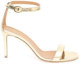 Mansur Gavriel Lamb 90MM Ankle Strap Sandal - Gold