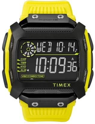 Timex Command Black Digital Dial Plastic Strap Unisex Watch TW5M18500