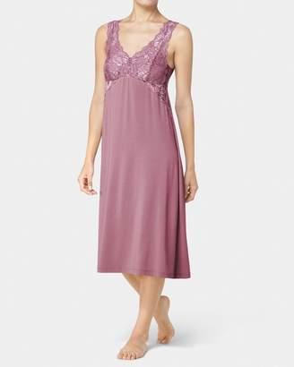 Triumph Peony Florale Long Night Dress