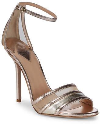 Aperlaï Metallic Ankle-Strap Sandal