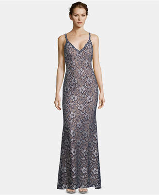 Xscape Evenings Embellished Lace Gown