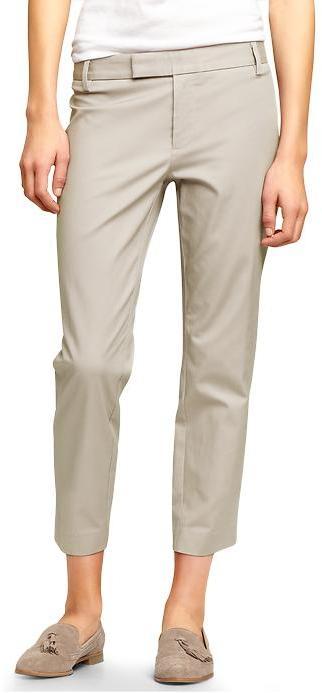 Gap Slim cropped refined pants