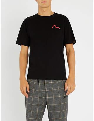 Evisu Godhead-graphic cotton-jersey T-shirt
