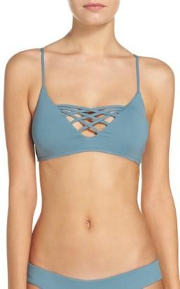 Women's L Space Jaime Bikini Top $88 thestylecure.com