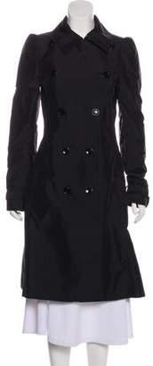 Dolce & Gabbana Long Trench Coat