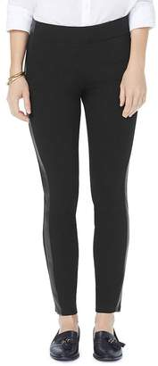 NYDJ Faux-Leather Trimmed Ponte Leggings - 100% Exclusive