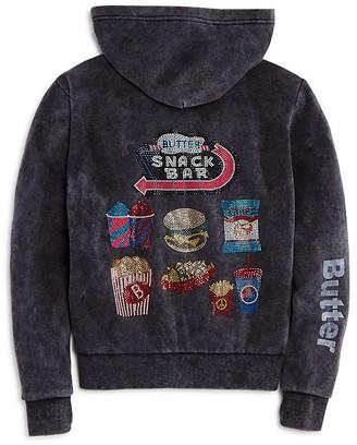 Butter Girls' Snack Bar Hoodie - Big Kid $68 thestylecure.com