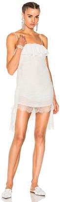 Francesco Scognamiglio Asymmetrical Lace Dress