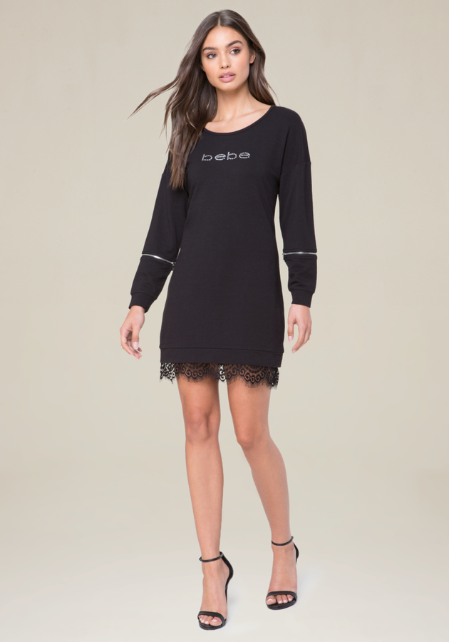 Logo Kyna Popover Dress