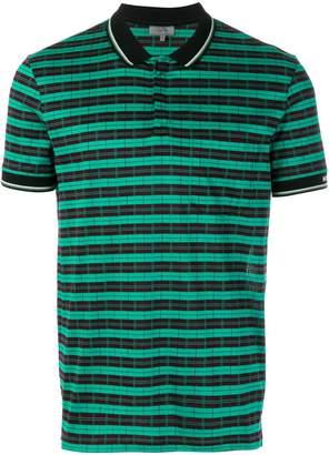 Lanvin two-tone polo shirt