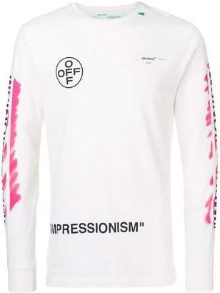 Off-White impressionism sweatshirt