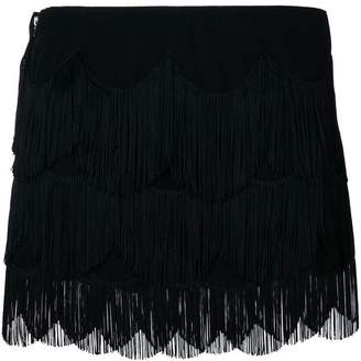 Marc Jacobs fringe mini skirt
