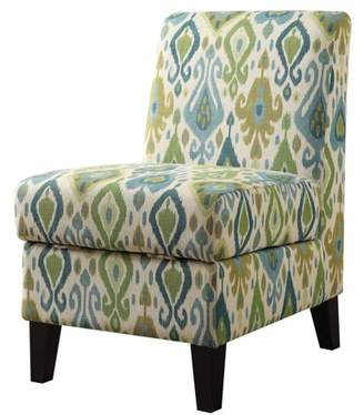 ACME Furniture ACME Ollano II Storage Accent Chair, Pattern Fabric 2
