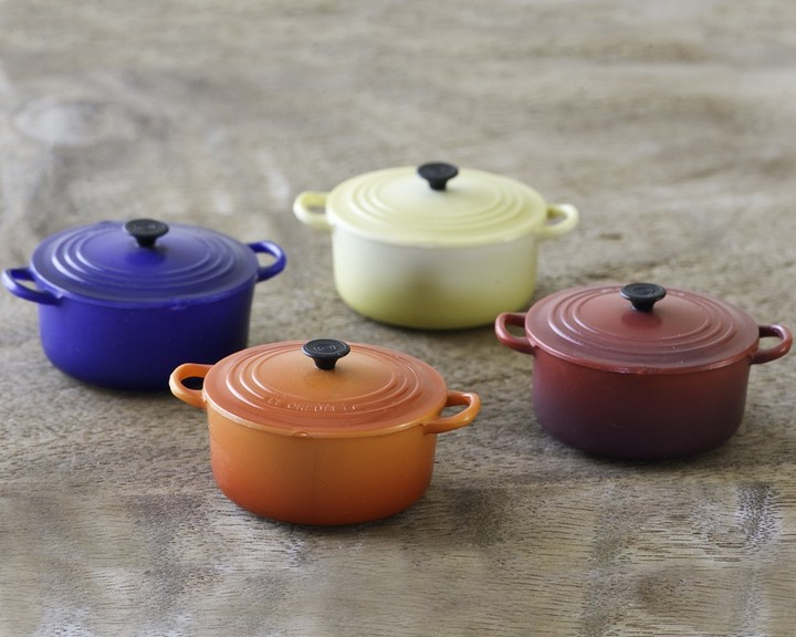 Le Creuset Oven Magnets, Set of 4
