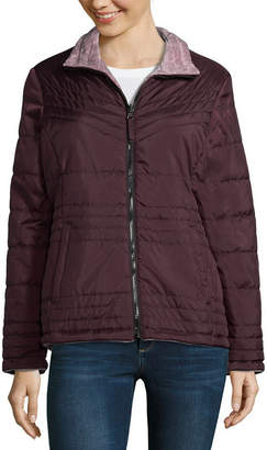 Free Country Water Resistant Lightweight Puffer Jacket-Tall