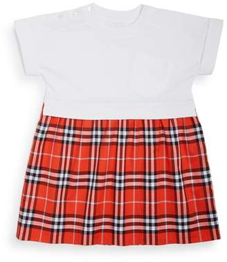 Burberry Girls' Ruby Vintage Check Skirt Dress - Little Kid, Big Kid
