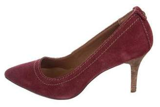Calvin Klein Jeans Suede Pointed-Toe Pumps
