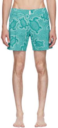 Vilebrequin Blue Merise Tortue Hypnotoques Swim Shorts